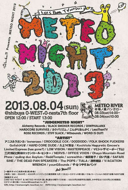 METEO NIGHT 2013